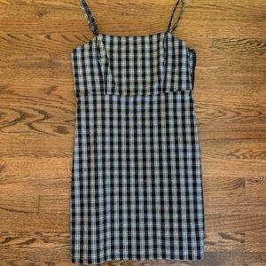 Hollister checkered/plaid dress